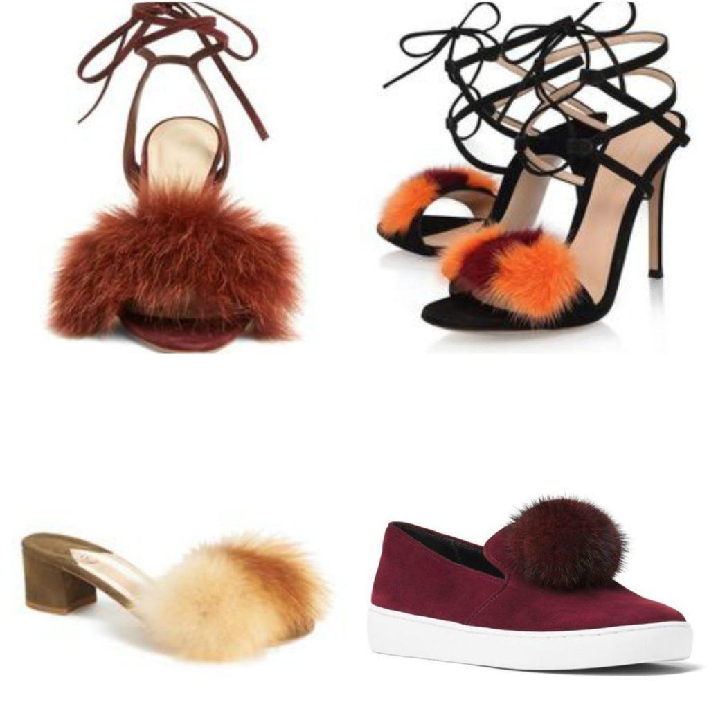 fur shoes, trend, aquazzura