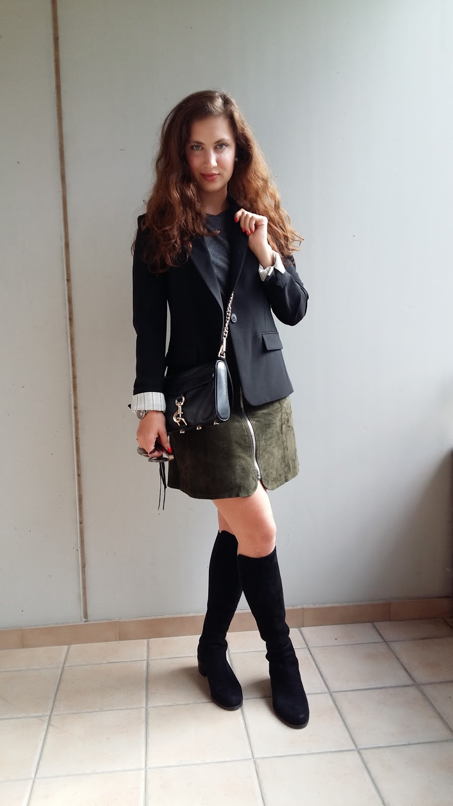 fall, suede, zara, stuart weitzman, theory, Rebecca Minkoff, mini skirt