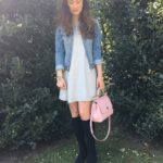 The Perfect Spring Transition Dress