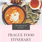 Prague Food Itinerary