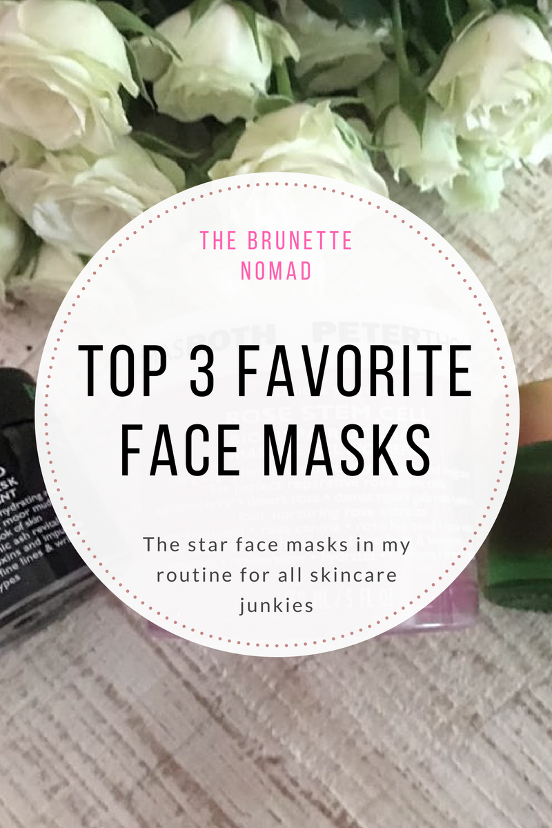 Favorite face masks: Tata Harper and Peter Thomas Roth | The Brunette Nomad