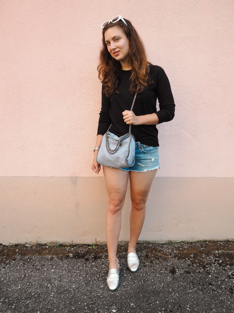 Cristina from The Brunette Nomad, Dallas fashion blogger living in Switzerland, shares how to transition into your Pre-Fall wardrobe