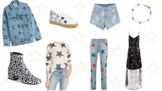 trends, star print
