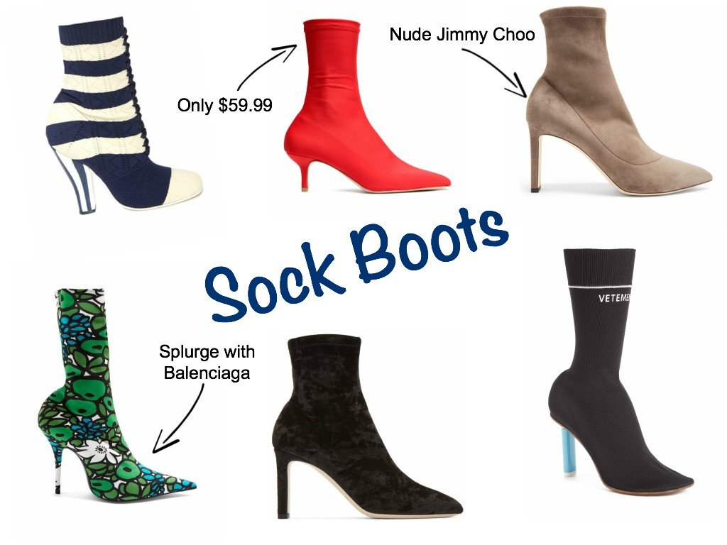 sock boot trend_The Brunette Nomad