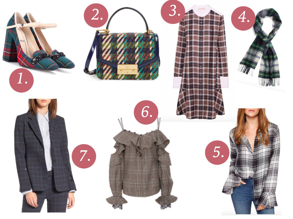 Cristina from The Brunette Nomad, Dallas fashion blogger living in Switzerland, discuss how we have gone made for plaid this season