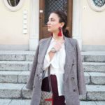 Fall Essentials: Burgundy & Plaid
