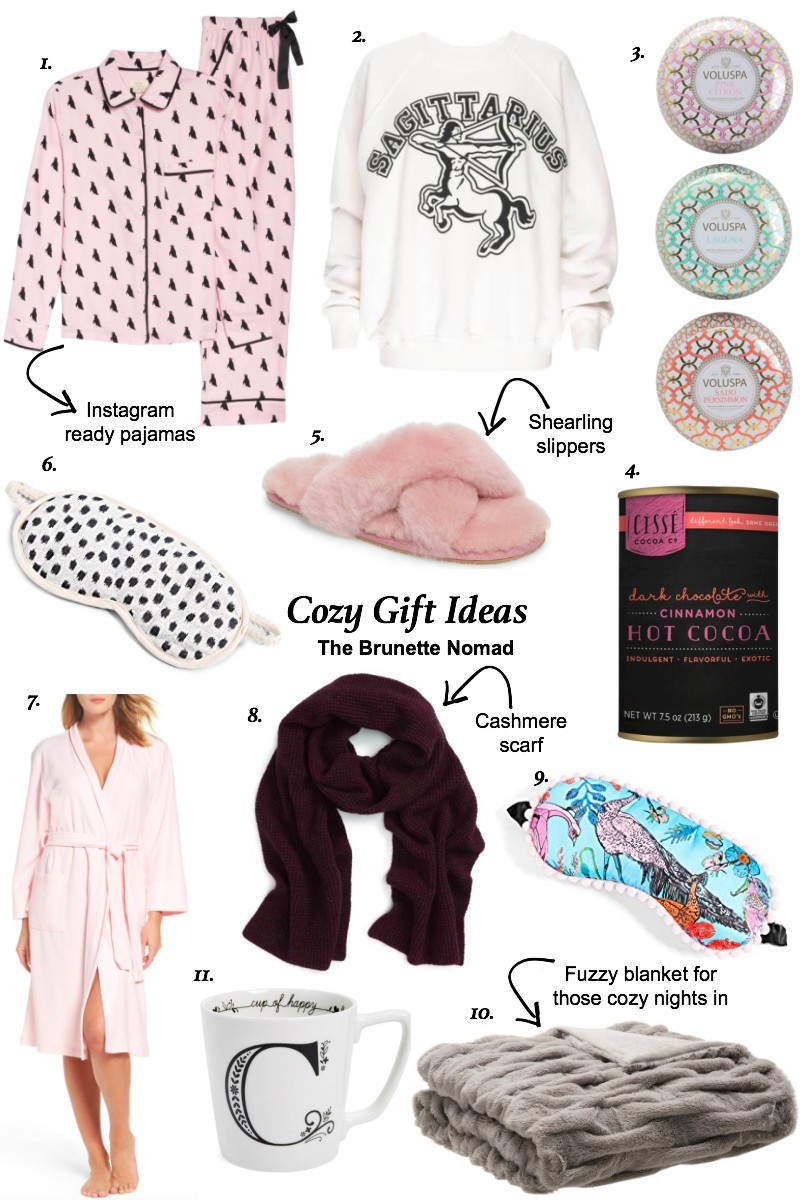 Holiday Gift Guide: Cozy Gift Ideas from The Brunette Nomad - Dallas based fashion blogger