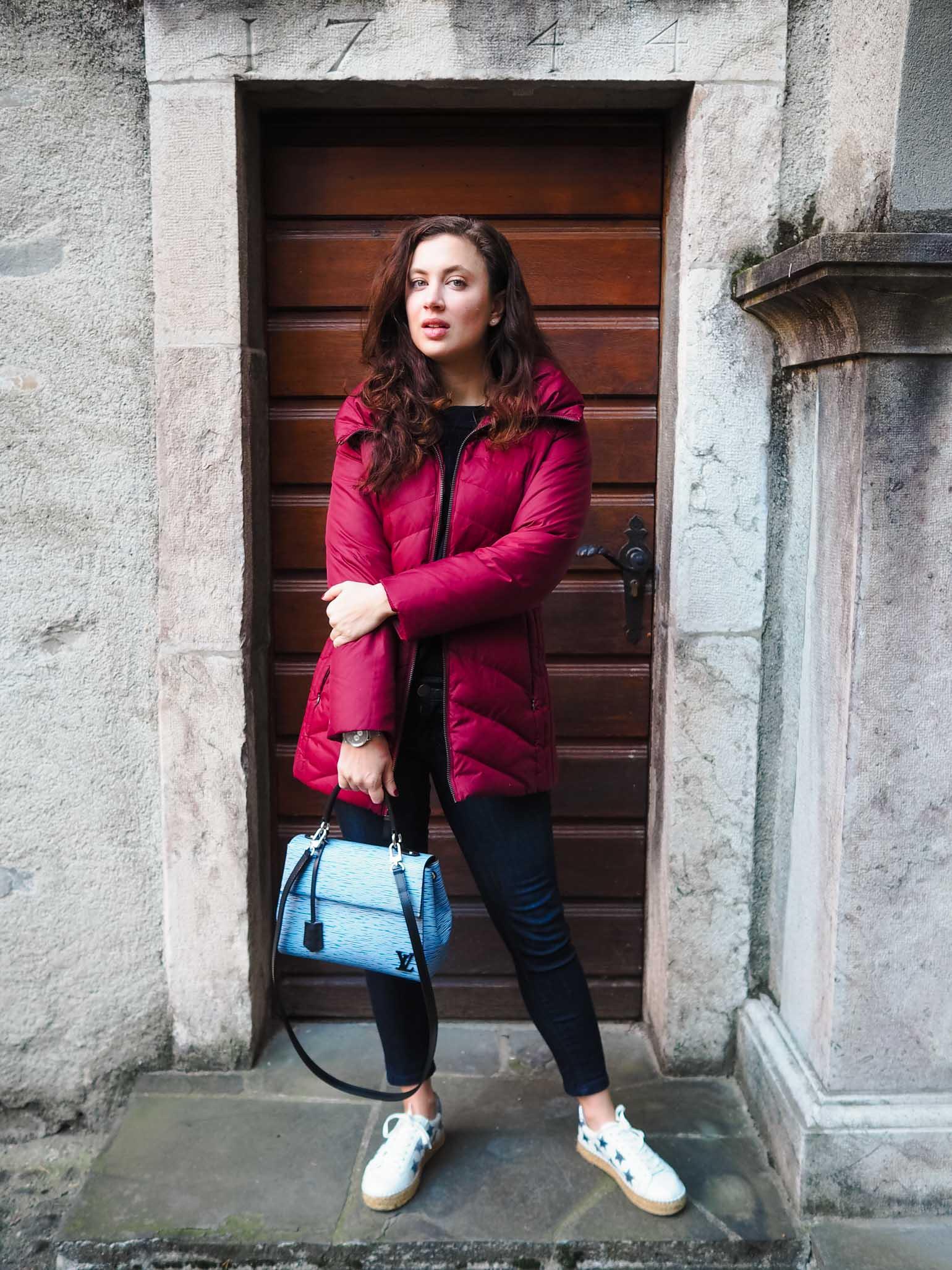 Luxury Handbag Review: Louis Vuitton Cluny BB - The Brunette Nomad, Dallas Fashion Blogger