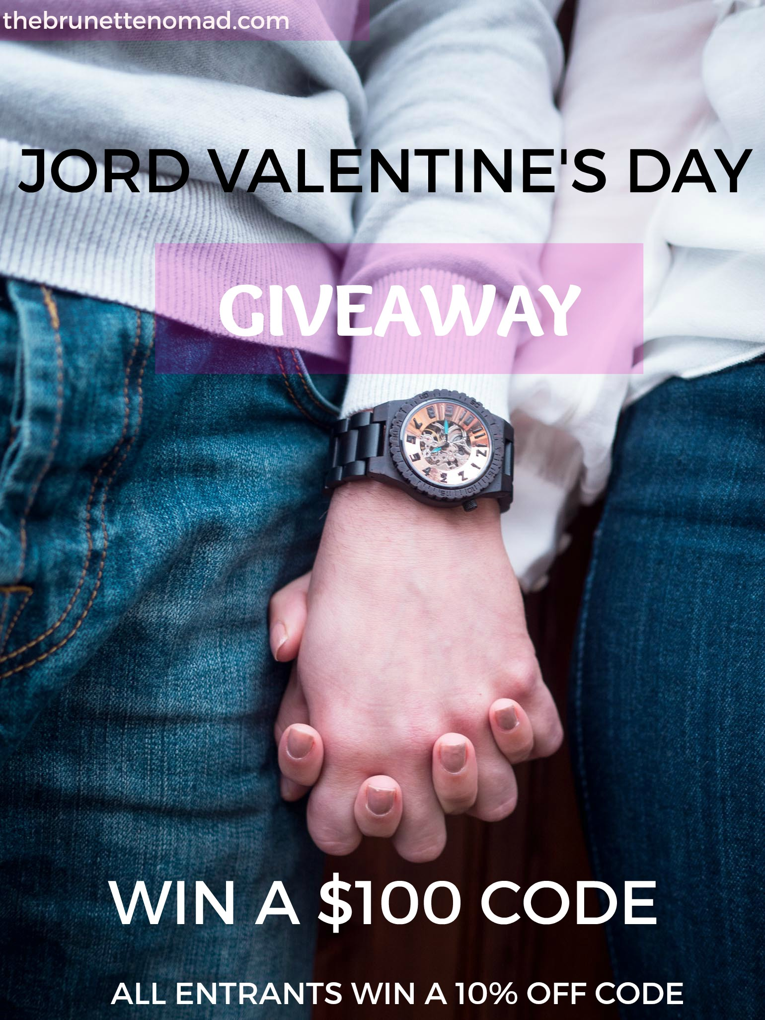 JORD Wood Watch Valentine's Day Giveaway | Dallas Fashion Blogger