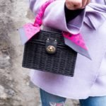 How to Wear A Woven Bag in the Winter