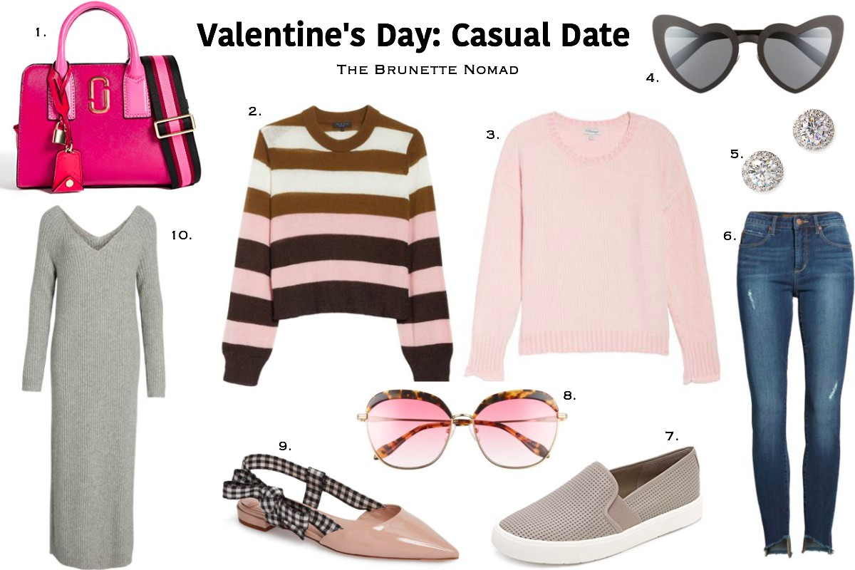 Valentine's Day Casual Date Outfit Ideas