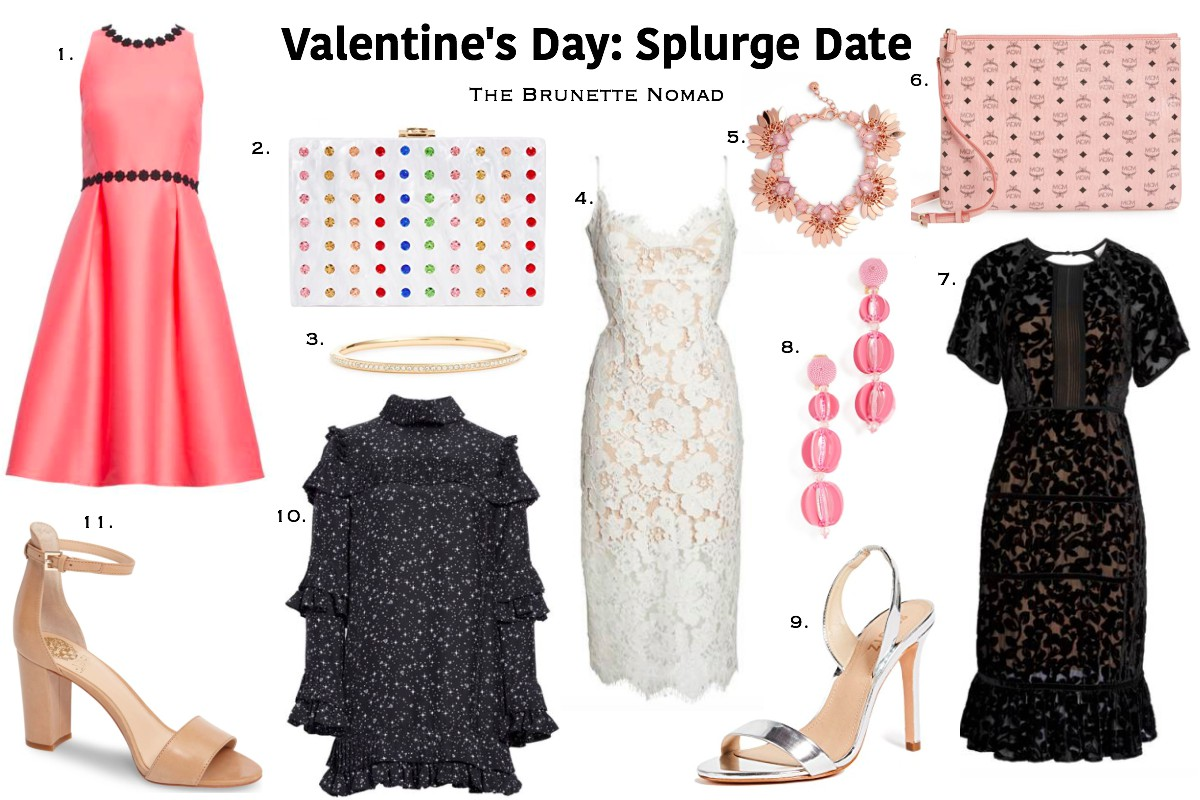 Valentine's Day Splurge Date Outfit Ideas
