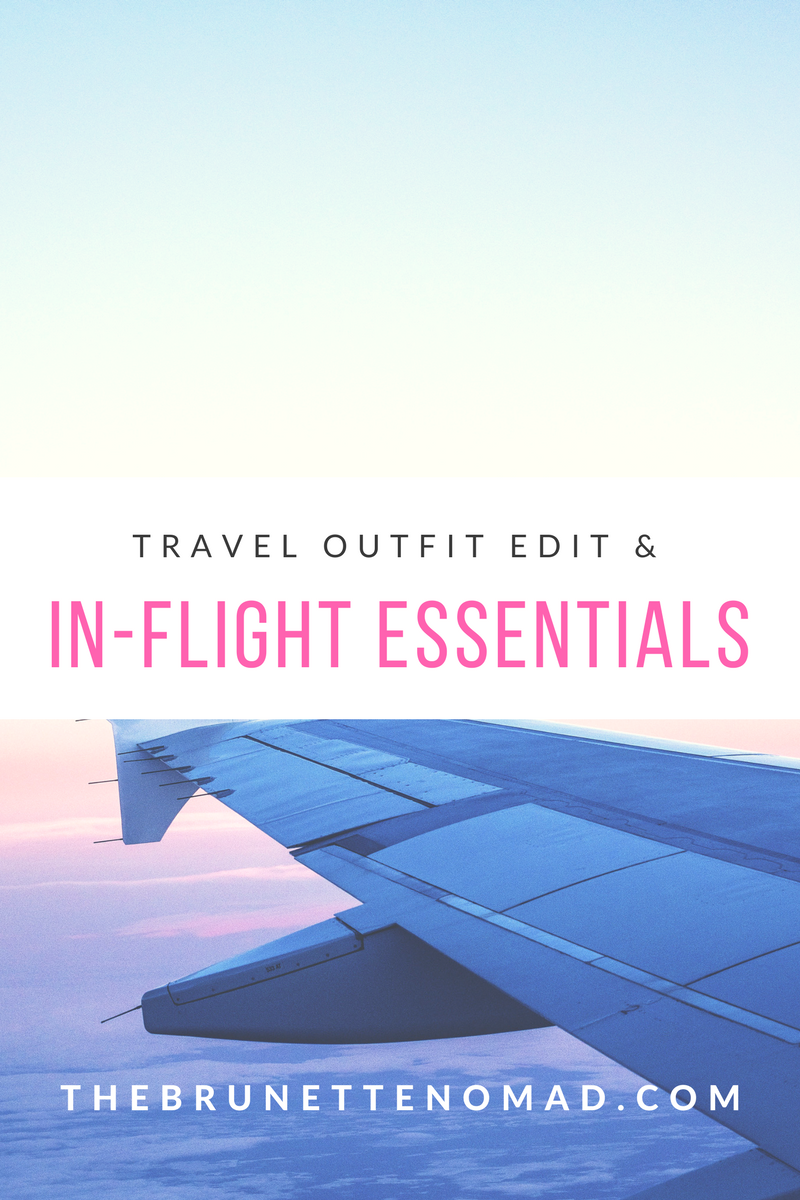 My travel outfit edit and a few in-flight essentials | Dallas fashion blogger