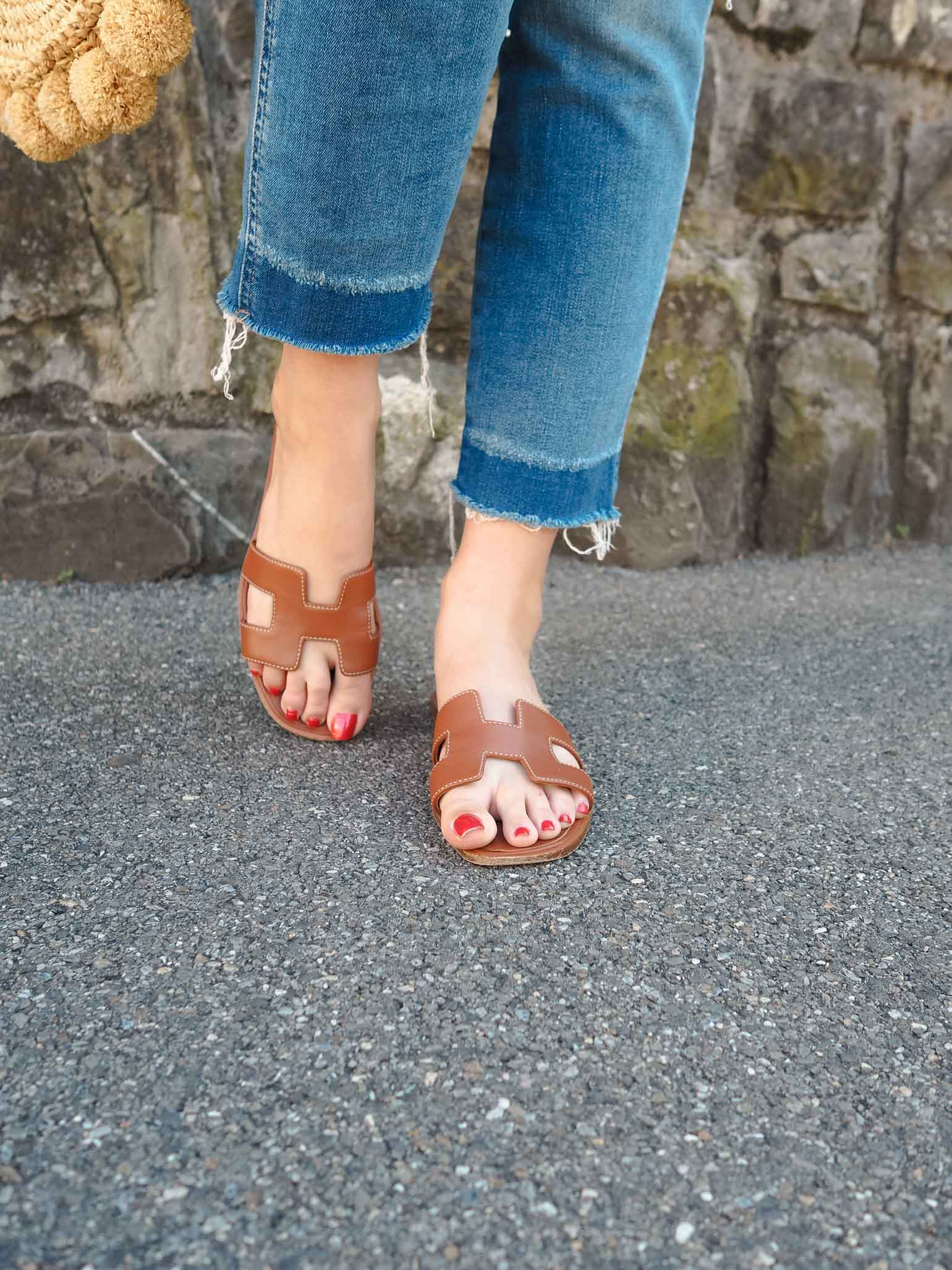 dbb361a4cdb Dallas fashion blogger shares her thoughts on the infamous Hermes Oran  Sandals