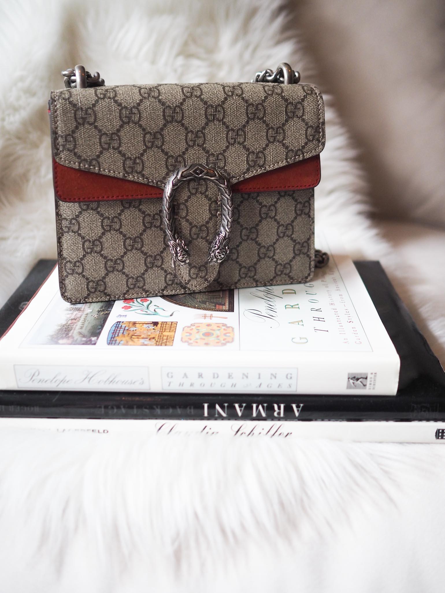 57025d217 Gucci Dionysus Supreme Mini Handbag Review - The Brunette Nomad